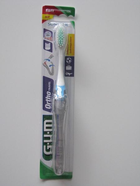GUM Susntar szczoteczka ortodontyczna podróżna